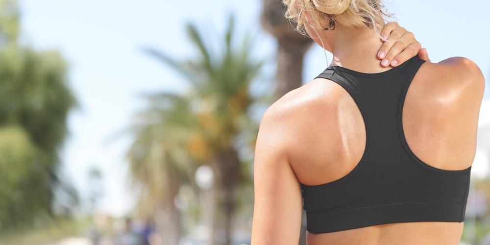 Olio da massaggio contro le tensioni muscolari